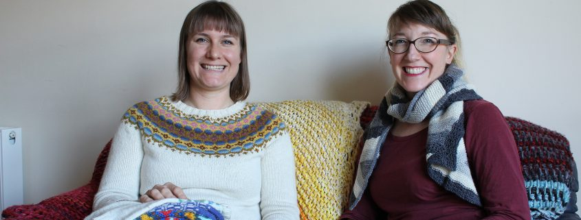 Renee and Emily Wessel on the EastLondonKnit podcast