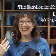 episode 71 of the EastLondonKnit podcast with added knitting